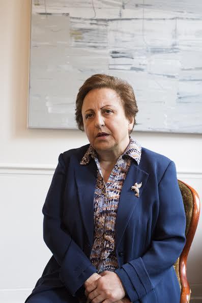 Shirin Ebadi er fortsatt sterkt imot Muhammed-tegningene. (foto: Lene Risholt Thorbjørnsen)