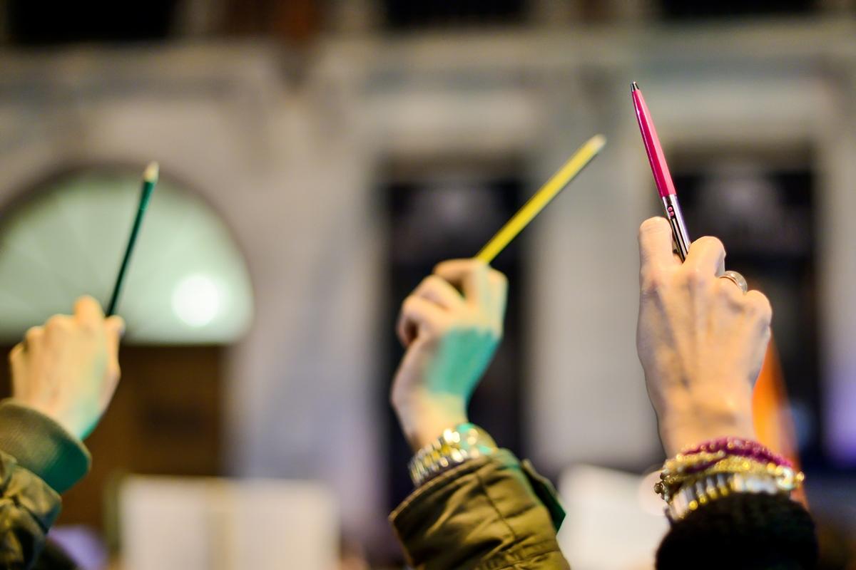 Støttemarkering for Charlie Hebdo i Madrid 7. januar 2015 - dagen da redaksjonen i bladet ble angrepet av islamistiske terrorister. 12 mennesker ble drept og 11 skadet.