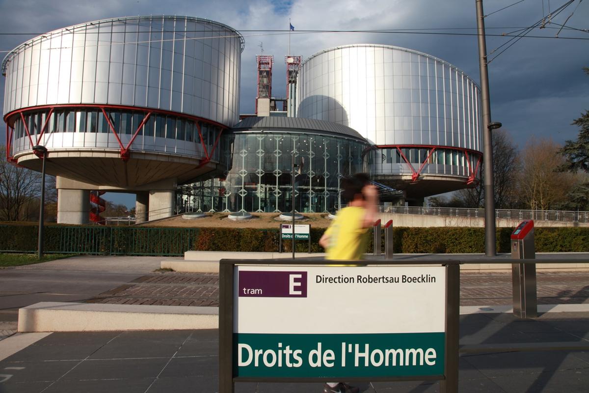 Den europeiske menneskerettsdomstolen i Strasbourg.