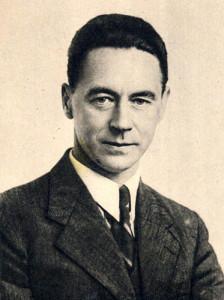 Gulbrand Lunde ble utnevnt til propagandasjef for Nasjonal Samling i 1935, norsk rikspropagandasjef i 1940.