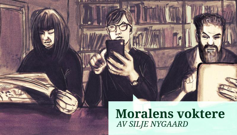 Moralens voktere: Fremskrittspartiet og kommentariatet