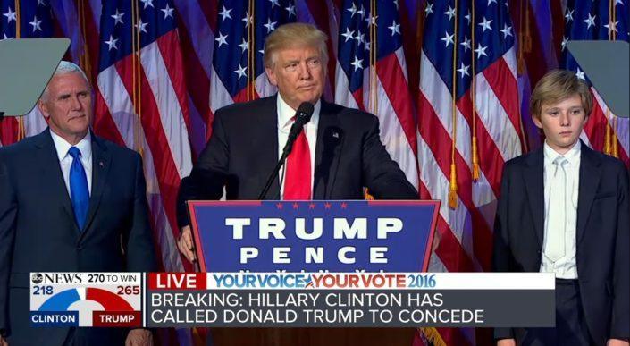 President Trumps retorikk - små ord eller store taler?