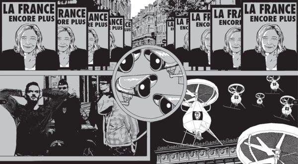 Dyster spådom om Le Pen ved makten