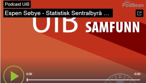 Espen Søbye – Statistisk sentralbyrå og ideen om offisiell statistikk (podkast)